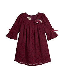 Baby Girls Bell Sleeve Dress