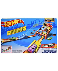 Hot Wheels Action Launch Across Challenge Track Set (50% Off) -- Comparable Value $39.99