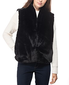 INC Faux-Fur Vest, Created for Macy's