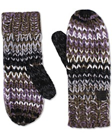 Women's Chunky Knit Mittens