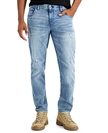 INC Men's Sanjaya Tapered Jeans, Created for Macy's