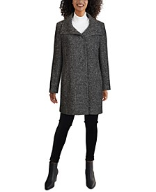 Houndstooth Walker Coat
