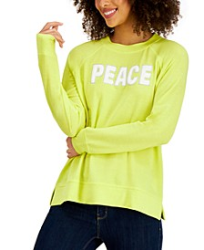 Peace Graphic Sweatshirt, Created for Macy's