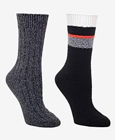 Women's Boot Socks Pack of 2 Pairs
