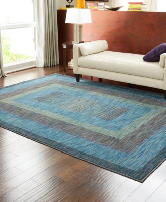 Shaw Living Rugs, American Abstracts Collection 21400 Monza Blue