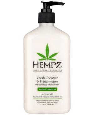 Fresh Coconut & Watermelon Herbal Body Moisturizer