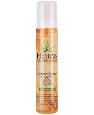 Fresh Fusions Citrine Crystal & Quartz Herbal Face