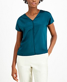V-Neck Top, Created for Macy's