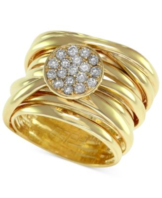 DOro by EFFY Diamond PaveSet Wrap Ring 13 ct tw in 14k Gold
