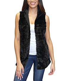 Crave Frame Juniors' Faux Fur Vest