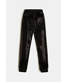 Big Girls Full Sequins Active Pants