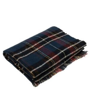Men's and Women's Plaid Reversible Scarf with Fringes