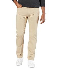 Men's Jean-Cut Supreme Flex Straight Fit Pants, Created for Macy's