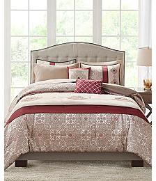 Adela 9-Pc. Queen Comforter Set