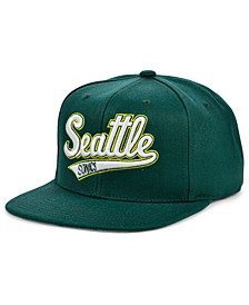 Seattle SuperSonics HWC Basic Classic Snapback Cap