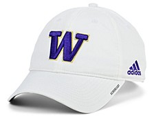 Washington Huskies Coaches Sideline Adjustable Cap