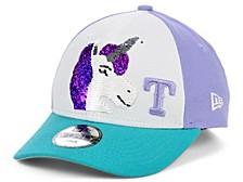 Women's Texas Rangers Unicorn Flip 9FORTY Cap