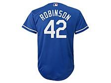 Jackie Robinson Brooklyn Dodgers Youth Coop Player Jersey