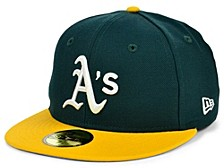 Oakland Athletics 100th Patch 59FIFTY Cap