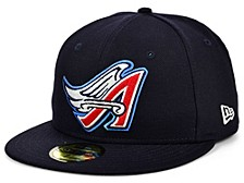 Los Angeles Angels 100th Patch 59FIFTY Cap