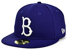 Brooklyn Dodgers 100th Patch 59FIFTY Cap