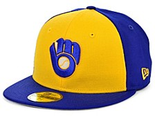 Milwaukee Brewers 100th Patch 59FIFTY Cap