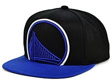 Golden State Warriors Neon Crop XL Snapback Cap