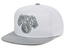 New York Knicks Cool Gray Snapback Cap