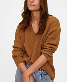 Women's V-Neckline Sweater