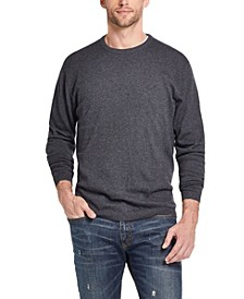 Men's Cotton Cashmere Crew Neck Sweater