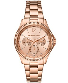 Women's Riley Rose Gold-Tone Stainless Steel Bracelet Watch 39mm