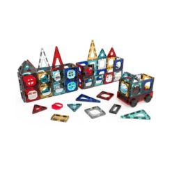 Fao Schwarz Toy Magnetic Tile and Truck Set 32pcs, Created for Macy's