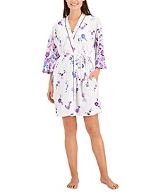 Printed Wrap Robe, Created for Macy's