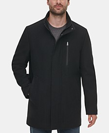 Men's Long Open Bottom Overcoat, Created for Macy's