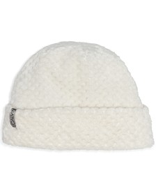 Textured Faux Sherpa Hat