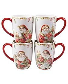 Christmas Story 4 Piece Mug