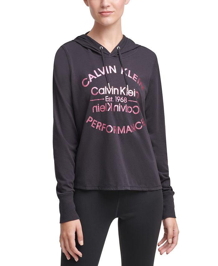 Calvin Klein - Logo Hooded T-Shirt