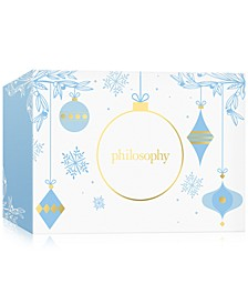 Choose your Free Holiday Gift Bag or Holiday Gift Box with any $100 philosophy purchase!