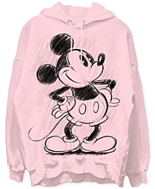 Mickey Mouse Graphic Boyfriend Hoodie