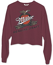 Miller Cropped Graphic Long Sleeve T-Shirt