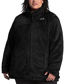 Women's Plus Size Mossbud Reversible Fleece Jacket