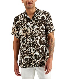 INC Men's Floral-Print Shirt, Created for Macy's