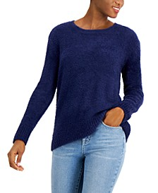 Striped Ribbed Hoodie Sweater, Created for Macy's