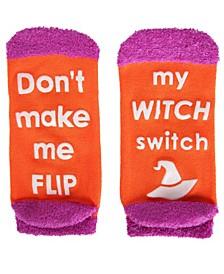 Women's Witch Switch Halloween Low-Cut Socks