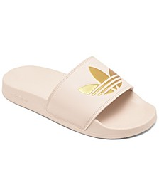 Women's Adilette Lite Slide Sandals from Finish Line