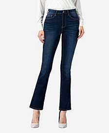 Women's High Rise Mini Bootcut Jeans