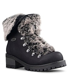 Women's Adore Fur Classic Chukka Regular Fashion Boot