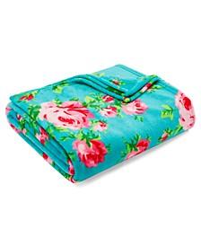 Bouquet Day Ultra Soft Plush Full/Queen Blanket