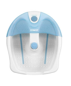 Conair Foot Spa Bath with Heat and Bubbles