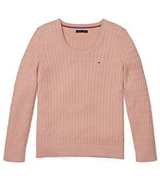 Women's Scoop-Neck Sweater